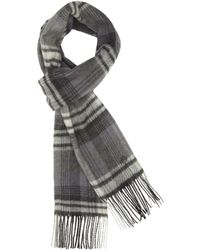 Mulberry - Check Scarf - Lyst