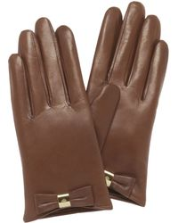 Mulberry Bow Glove - Lyst