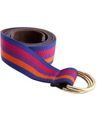 Thomas Pink - Dorchester Ribbon Belt - Lyst