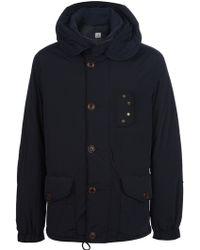 C P Company Padded Hooded Jacket - Lyst