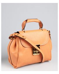 Chloé Clementine Leather Convertible Top Handle Satchel - Lyst