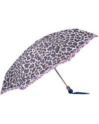 Marc By Marc Jacobs - Purple Leonora Leopard Print Umbrella - Lyst