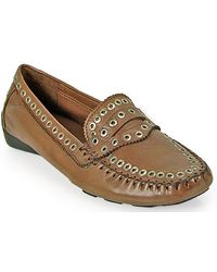 Robert Zur - Tene Driving Moccasin in Luggage Leather - Lyst