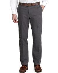 Brooks Brothers Milano Advantage Chinos® gray - Lyst