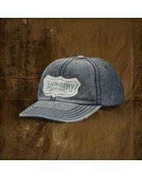8b801d6a58209 Denim   Supply Ralph Lauren - Denim Baseball Cap - Lyst