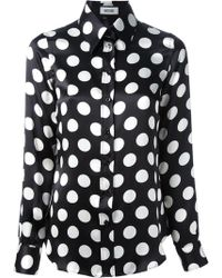 Moschino Polka Dot Blouse - Lyst