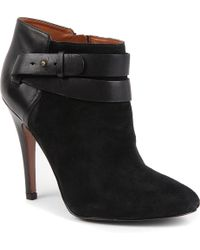 Nine West Brettly Suede Ankle Boots - Lyst