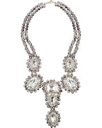 Topshop Premium Princess Collar Necklace - Lyst