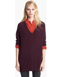 Equipment 'Asher' V-Neck Cashmere Sweater - Lyst