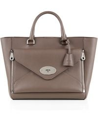 Mulberry | Willow Classic Silky Calf Tote | Lyst