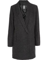 Lot78 - Woolblend Herringbone Coat - Lyst
