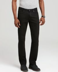 Paige Jeans - Normandie Straight Fit In Black - Lyst