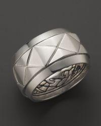 John Hardy - Mens Naga Silver Scale Band Ring - Lyst