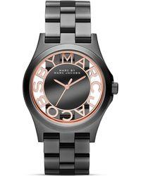 Marc By Marc Jacobs Skeleton Bracelet Watch, 40Mm - Lyst