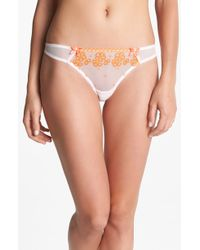 Panache White Lucy Thong - Lyst