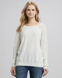 Vince Raglan-Sleeve Cashmere Sweater - Lyst