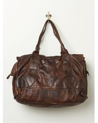 Free People Distressed Emery Tote - Lyst