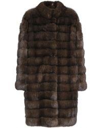 Manzoni 24 | Barguzin Sable Fur Coat | Lyst