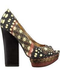 Nine West Gosh Platform Heels - Lyst