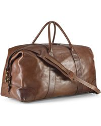 Polo Ralph Lauren Core Leather Duffle Bag - Lyst
