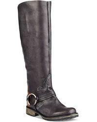 Steve Madden Judgement Tall Shaft Boots - Lyst