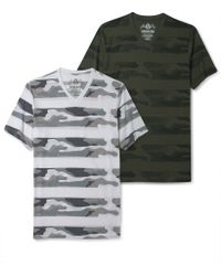 American Rag Stripe Camo Short Sleeve Tshirt - Lyst