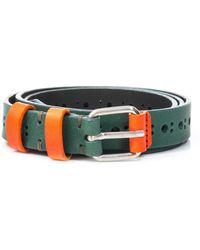 Carven - Cut Out Leather Belt - Lyst