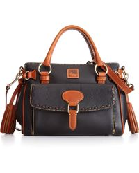 Dooney & Bourke Dillen Ii Medium Pocket Satchel - Lyst