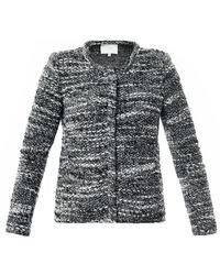 IRO Refilia Collarless Knitted Jacket - Lyst