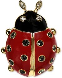 Jones New York - Goldtone Ladybug Pin - Lyst