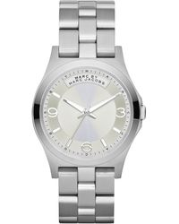 Marc By Marc Jacobs Womens Baby Dave Stainless Steel Bracelet 40mm - Lyst