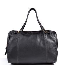 Chloé - Leather Duffle Bag in Black - Lyst