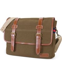 Tommy Hilfiger East West Flapover Messenger Bag - Lyst