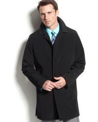 Calvin Klein Black Park Raincoat - Lyst