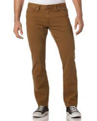 Calvin Klein Jeans Slim Straight Color Wash Jeans - Lyst