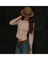 RRL | Highland Shirt Jacket | Lyst