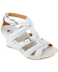 Earthies - Lucia Too Wedge Sandals - Lyst