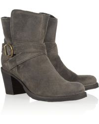 Fiorentini + Baker Nubis Shearlinglined Suede Ankle Boots - Lyst