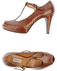 Fratelli Rossetti Courts with Open Toe - Lyst