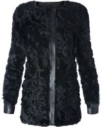 Mango Fur Coat - Lyst
