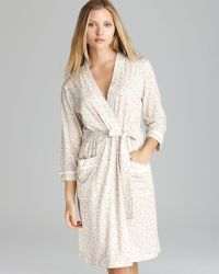 Carole Hochman - Liberty Floral Short Robe - Lyst