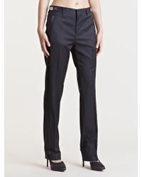 Givenchy Womens Metal Panel Tailored Pants - Lyst
