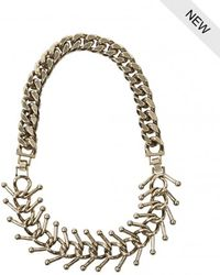 AllSaints - Medulla Necklace - Lyst