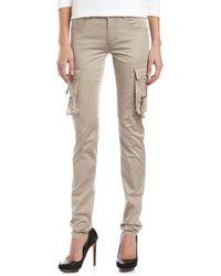 L.A.M.B. Skinny Cargo Pants Tan - Lyst