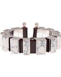 Delfina Delettrez Macro Mosaic Little Bracelet - Lyst