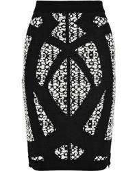 Dagmar | Jenat Patterned Jacquard Knit Pencil Skirt | Lyst
