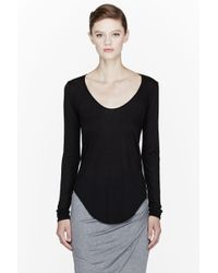 Helmut - Black Kinetic Jersey Long Sleeve T_shirt - Lyst