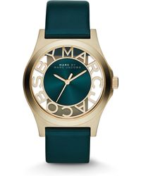 Marc By Marc Jacobs Goldtone Stainless Steel Cutout Dial Watch - Lyst