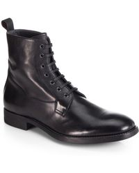 To Boot Trapper Leather Laceup Boots - Lyst