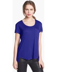 Two By Vince Camuto High Low Tee - Lyst